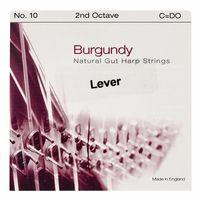 Bow Brand : Burgundy 2nd C Gut Str. No.10