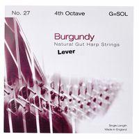 Bow Brand : Burgundy 4th G Gut Str. No.27