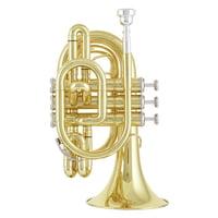 Jupiter : JTR710L Pocket Trumpet Lacquer