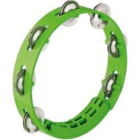 Nino : Kompakt ABS Tamburine Green
