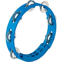 Nino : Kompakt ABS Tamburine Blue