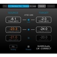 Nugen Audio : LM-Correct 2