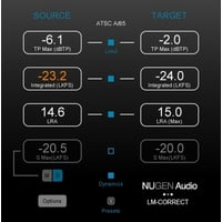 Nugen Audio : LM-Correct 2 DynApt Extension