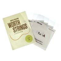 Worth Strings : CM Concert/Soprano Ukulele Set