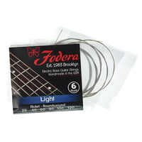 Fodera : 6-String Set Light Nickel