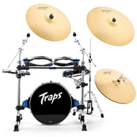 Traps : A-400 Drumset with Cymbals