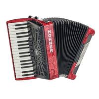 Hohner : Bravo III 72 Red silent key