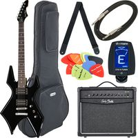 Harley Benton : WL-20BK Rock Series Bundle 4