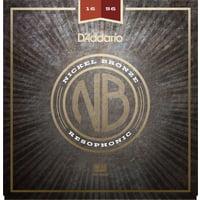 Daddario : NB1656 Nickel Bronze Reso