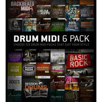 Toontrack : Drum Midi 6 Pack