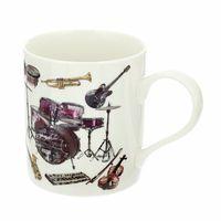 Anka Verlag : Mug with several Instrument