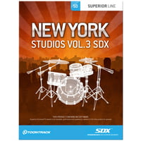 Toontrack : SDX New York Studios Vol. 3
