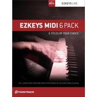 Toontrack : EZkeys Midi 6 Pack