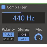 Kilohearts : Comb Filter