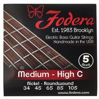 Fodera : 5-String Set Medium - High C