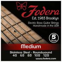 Fodera : 5-String Set Med SS XL Taper B