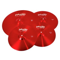 Paiste : 900 Color Univ. Cymbal Set RED