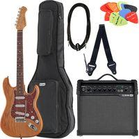 Brümmer : E-Guitar ST-90SA DLX S Bundle