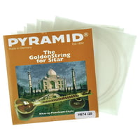 Pyramid : H674/20 Heavy Sitar Strings