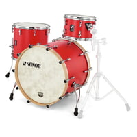 Sonor : SQ1 Rock Hot Rod Red