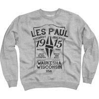 Les Paul Merchandise : Sweat Shirt Les Paul 1915 M