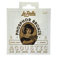 La Bella : 7GPT Phosphor Bronze XL