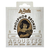 La Bella : 7GPS Phosphor Bronze L