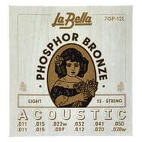 La Bella : 7GP-12L Phosphor Bronze L