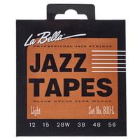La Bella : 800L Jazz Black Nylon L