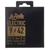 La Bella : HRS-XL El. Guitar RWNP