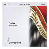 Bow Brand : Pedal Natural Gut 3rd E No.15
