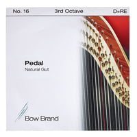 Bow Brand : Pedal Natural Gut 3rd D No.16