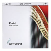 Bow Brand : Pedal Natural Gut 3rd B No.18