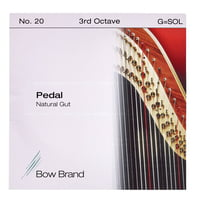 Bow Brand : Pedal Natural Gut 3rd G No.20