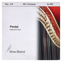 Bow Brand : Pedal Natural Gut 4th D No.23