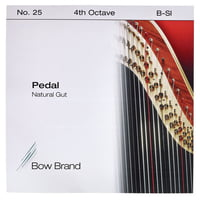 Bow Brand : Pedal Natural Gut 4th B No.25