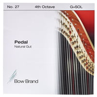 Bow Brand : Pedal Natural Gut 4th G No.27