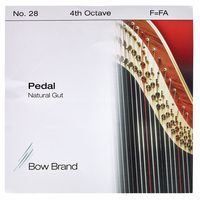 Bow Brand : Pedal Natural Gut 4th F No.28