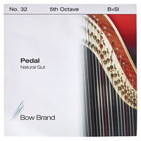 Bow Brand : Pedal Natural Gut 5th B No.32