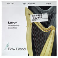 Bow Brand : BWP 5th F Harp Bass Wire No.35