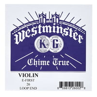 Westminster : E Violin 4/4 LP medium 0,26