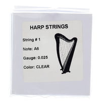 Thomann : Strings for Roundback Harp 22