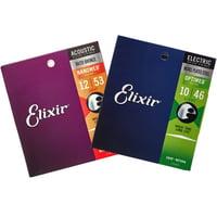 Elixir : Acoustic/E-Guitar Bundle