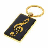A-Gift-Republic : Key Ring G-Clef Black/Gold