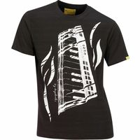 Xam Schrock : T-Shirt Piano Feeling L