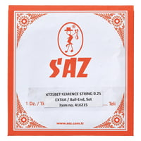 Saz : KT25BET Kemence Strings Extra