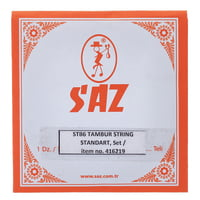 Saz : STB6 Tambur Strings Set Std.