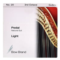 Bow Brand : Pedal Nat. Gut 3rd G No.20 L