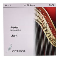 Bow Brand : Pedal Nat. Gut 1st B No.4 L