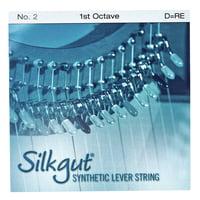 Bow Brand : Silkgut 1st D Harp String No.2
